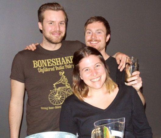 Nick, Nic and Becky from Amsterdam