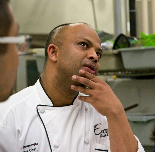 Executive Chef Roshan Wanasingha