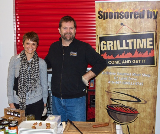 Andy and Christine Manning (Manning Canning) at the Winter Wonders show