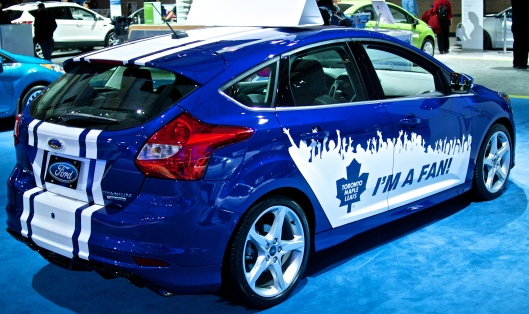 This is something from Ford that every Toronto Maple Leafs fan would buy.