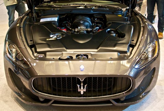 All of the Maserati cars were simply breathtaking.