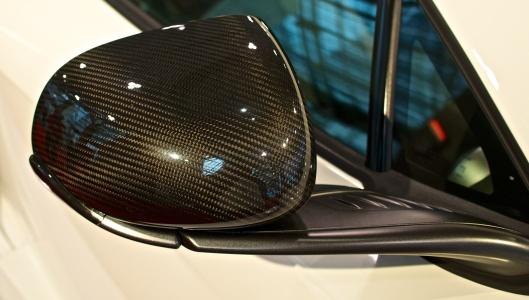 McLaren carbon fibre mirror