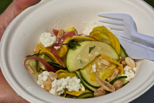 Zucchini salad from Hudson Kitchen