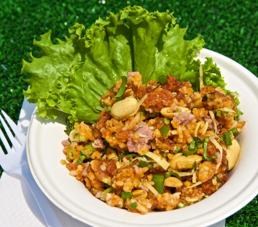 Khao San Road crispy rice salad