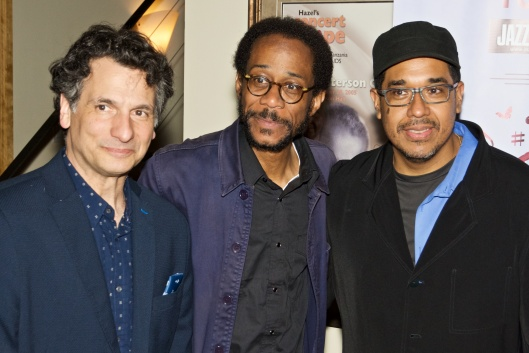 John Patitucci, birthday boy Brian Blade, and Danilo Pérez