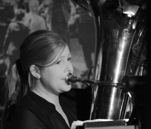 Jen Stephen, tuba